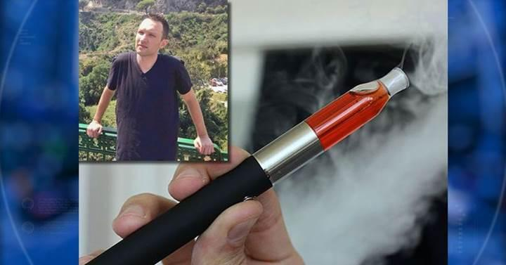 Patlayan elektronik sigara korkunç bir ölüme neden oldu