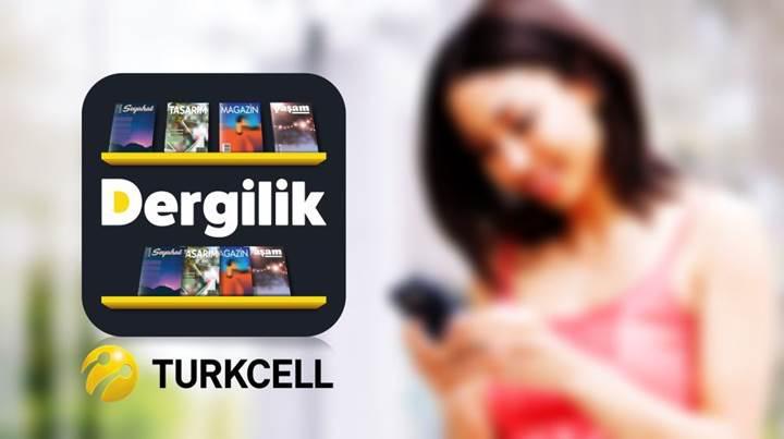 Dergilik uygulamasını ilk kez indirecekler için Turkcell'den çok özel kampanya