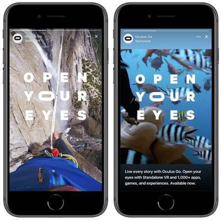 Facebook hikayelerde reklam görmeye hazır olun