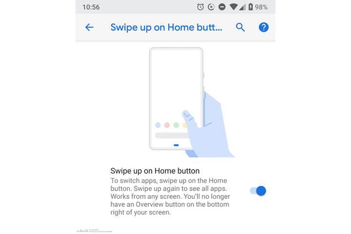 Android P, çentiksiz Google Pixel 3'ün tasarımını mı açığa çıkardı?