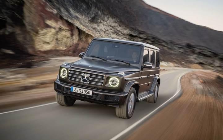 Yeni Mercedes G Serisi'ne dizel seçeneği ekleniyor