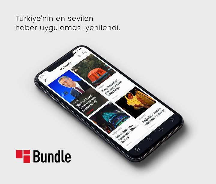 Türkiye'nin en çok indirilen haber uygulaması Bundle yenilendi!