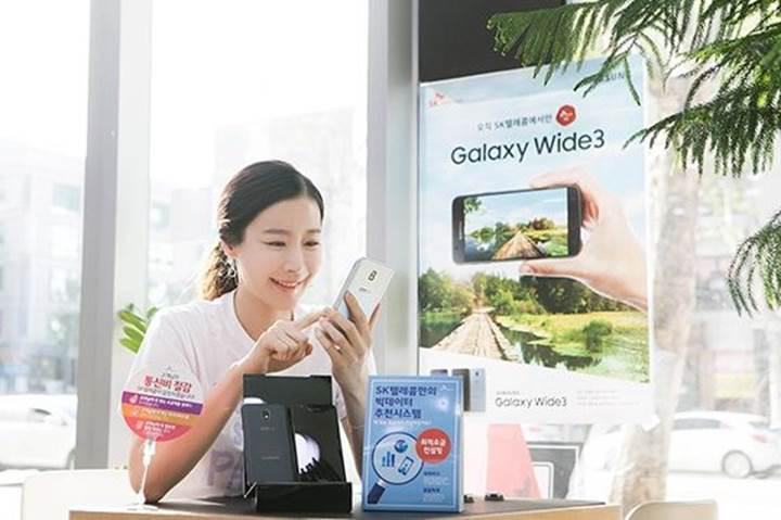 Samsung'dan büyük ekranlı giriş seviyesi telefon: Galaxy Wide 3