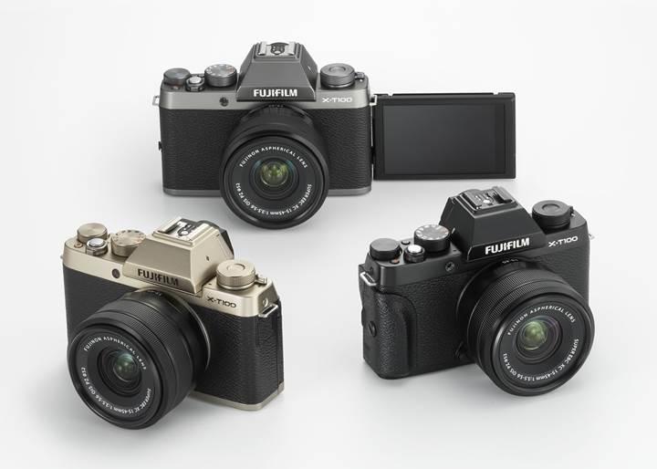 Fujifilm'den retro görünümlü yeni aynasız fotoğraf makinesi: X-T100