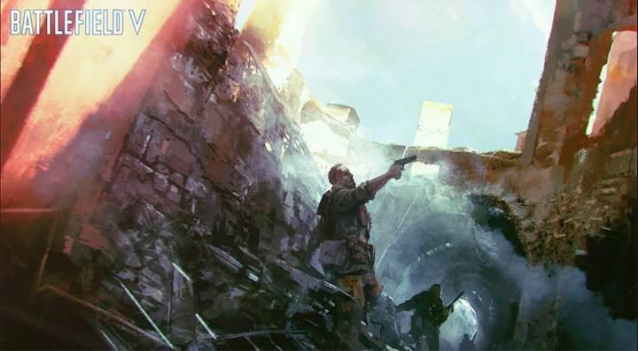 Battlefield V oyunu PC platformunda Nvidia'ya emanet