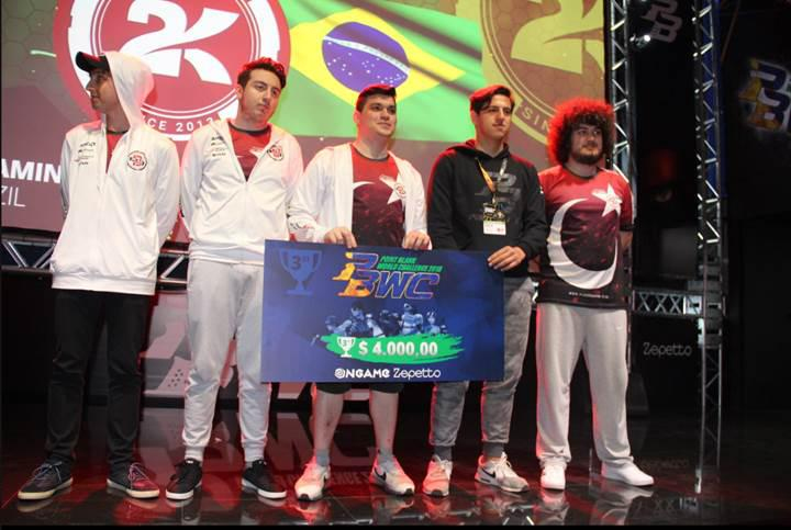 PBWC 2018'de ülkemizi temsil eden Plan-B.Gaming üçüncü oldu