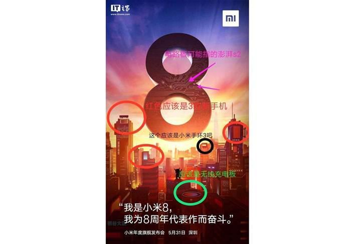 Xiaomi Mi 8 beraberinde iki yeni telefon daha getirebilir