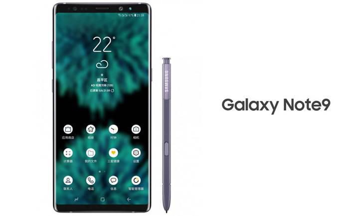 Samsung Galaxy Note 9, 8 GB RAM, 512 GB depolama alanı ile gelebilir