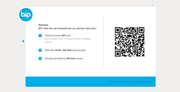 Turkcell'in mesajlaşma uygulaması BiP'in web arayüzü açıldı