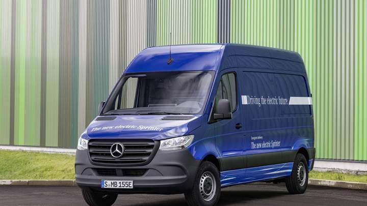 Elektrikli Mercedes eSprinter, iki farklı batarya ile satılacak