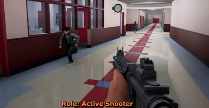 Okul katliamını simüle eden Active Shooter oyununa tepki yağıyor