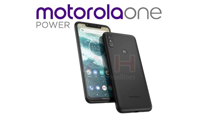 Motorola'dan iPhone X tasarımlı telefon: Motorola One Power