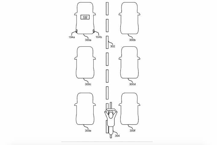 Ford, trafikte arkadan yaklaşan motosikleti algılayan bir sistemin patentini aldı