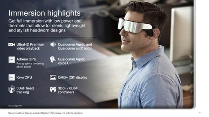 Qualcomm'dan AR ve VR cihazları için özel yonga seti: Snapdragon XR1