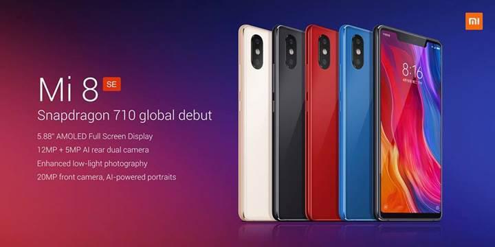 Xiaomi Mi 8 SE tanıtıldı: İşte özellikleri ve fiyatı