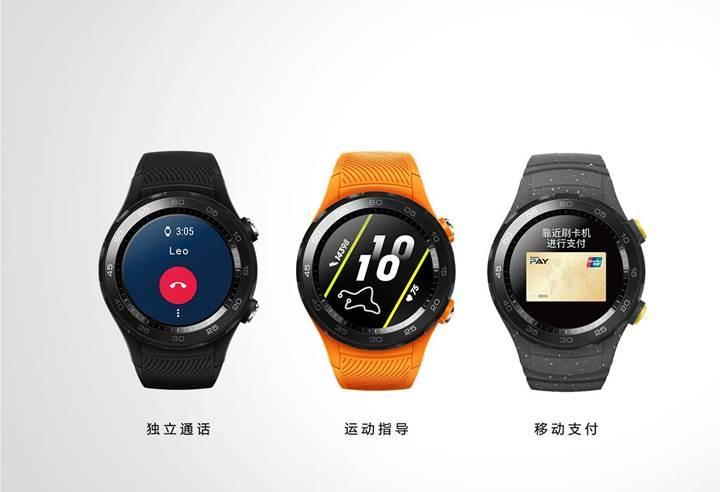 Huawei Watch 2 2018 duyuruldu: İşte özellikleri ve fiyatı