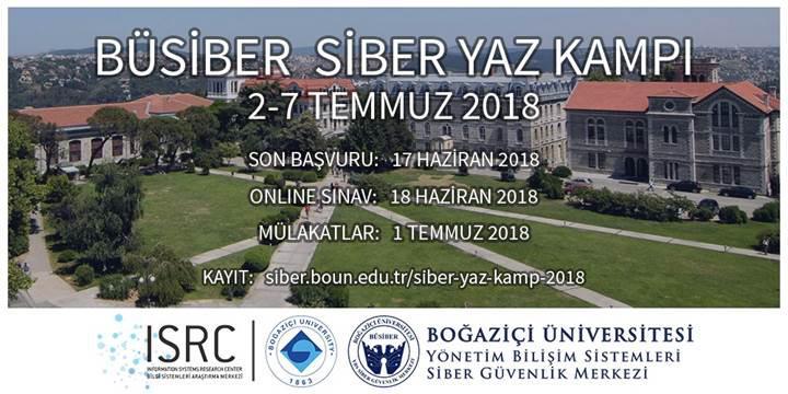 BÜSİBER Siber Yaz Kampı için son başvuru 17 Haziran