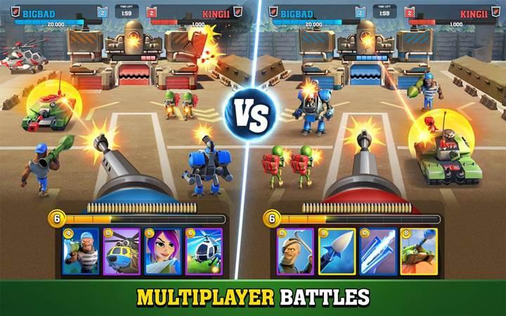Mighty Battles hayatta kalma savaşlarına yeni bir bakış açısı getiriyor