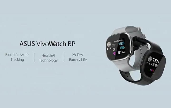 Asus'tan tansiyon ölçebilen akıllı saat: Asus Vivowatch BP