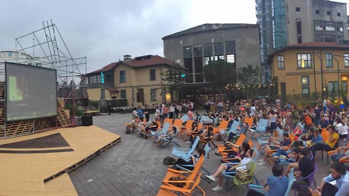 Yaz boyunca devam edecek ücretsiz açık hava sineması bugün başlıyor