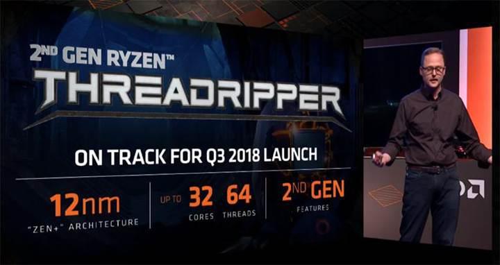 32 çekirdekli AMD Ryzen Threadripper duyuruldu