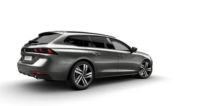 2019 Peugeot 508 station wagon ortaya çıktı
