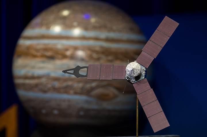 NASA, Juno uzay aracının Jüpiter'deki görevini 3 yıl uzattı