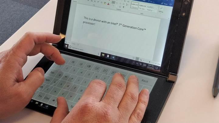 Intel, Computex'te çift ekranlı ve katlanabilir PC modelini sergiledi