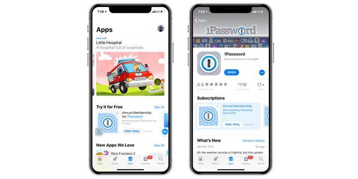 App Store, uygulamalar için deneme sürecini başlatıyor
