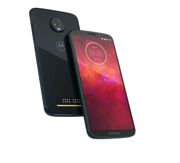 Motorola Moto Z3 Play tanıtıldı: İşte özellikleri ve fiyatı