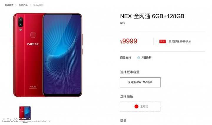 Çentiksiz tam ekranlı Vivo Nex ve Nex S ortaya çıktı