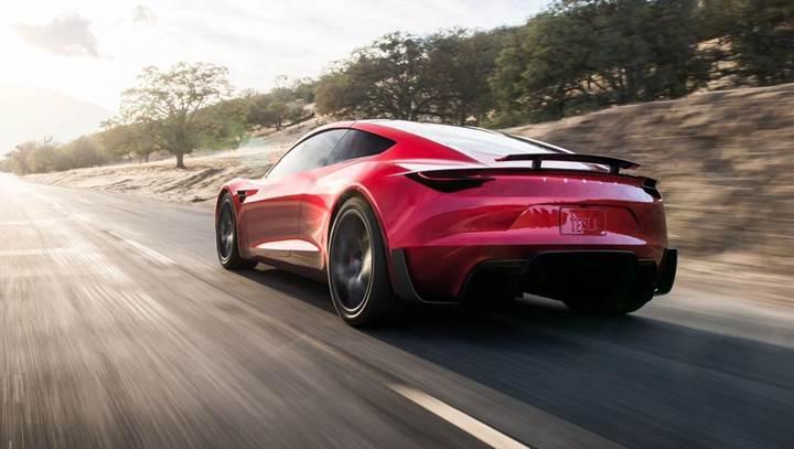 Tesla Roadster, SpaceX performans paketine sahip