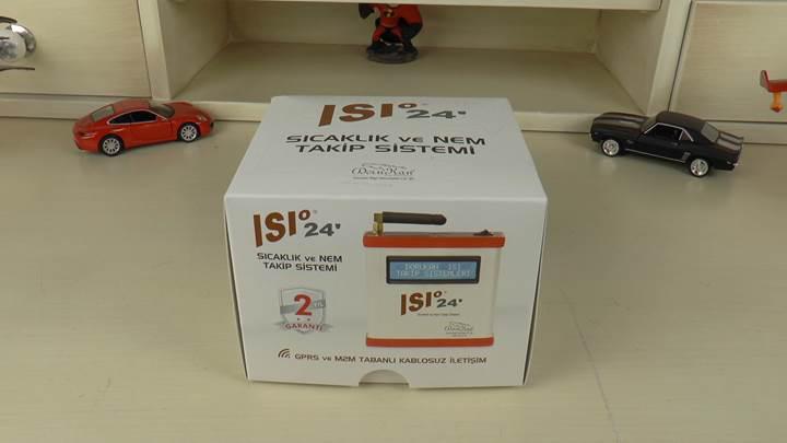 ISI 24 Sıcaklık ve Nem Takip Sistemi