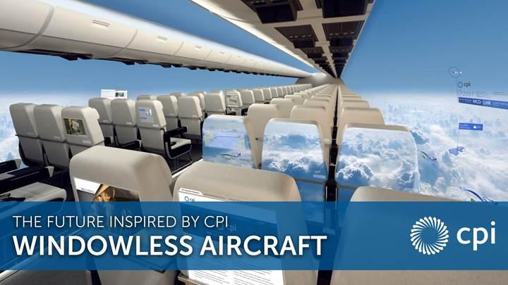 Emirates'in hedefi penceresiz uçaklar ile hizmet vermek