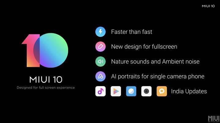 MIUI 10'un global çıkış tarihi açıklandı: İşte yeni arayüzü alacak telefonlar