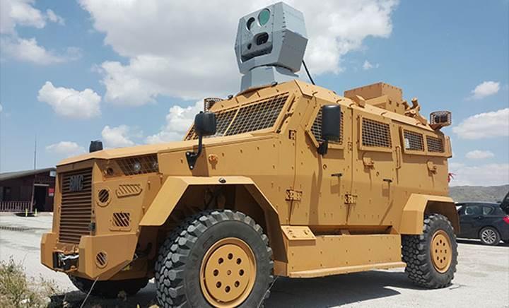 ASELSAN'ın Lazer Savunma Sistemi patlayıcı madde taşıyan drone'u imha etti