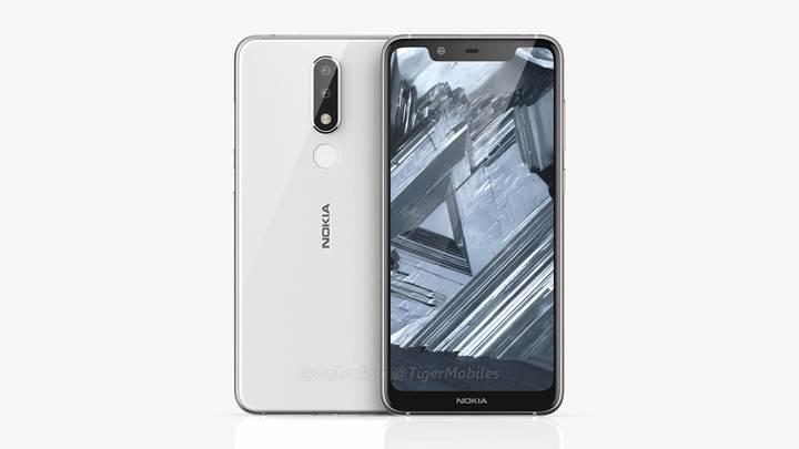 Nokia 5.1 Plus, çentikli ekran ve çift arka kamera ile geliyor