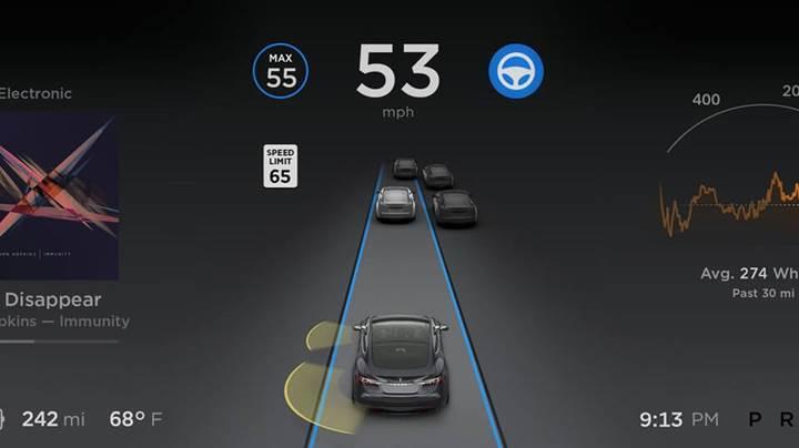 Tesla oto pilota tam otonom sürüş özelliği geliyor