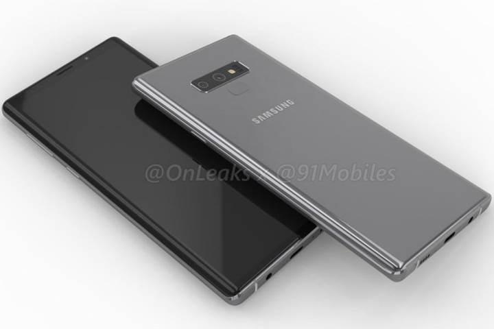 Samsung Galaxy Note 9'un yatay kamera yerleşiminin nedeni belli oldu
