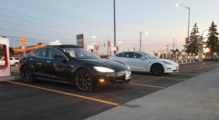 Tesla Supercharger şarj istasyonlarının sayısı 10 bini aştı