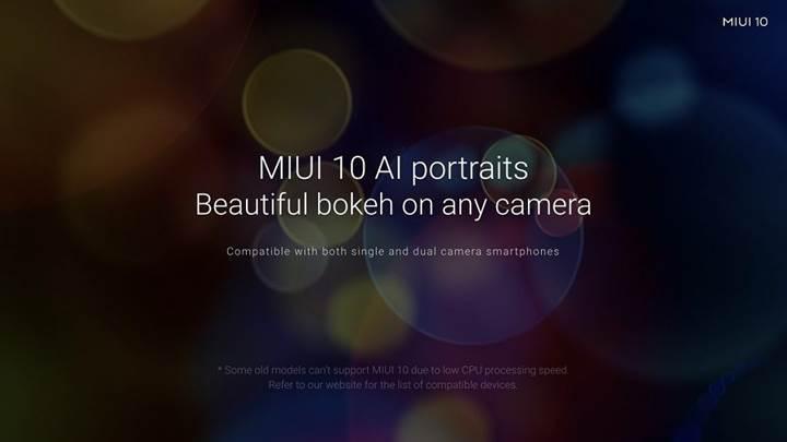 Portre modu özelliği kazanacak Xiaomi modelleri