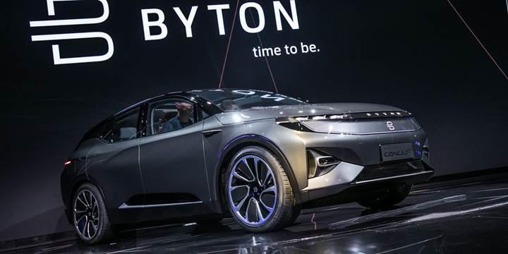 Çinli elektrikli araç girişimi Byton, milyon dolarlık yatırımlarla büyümeye devam ediyor