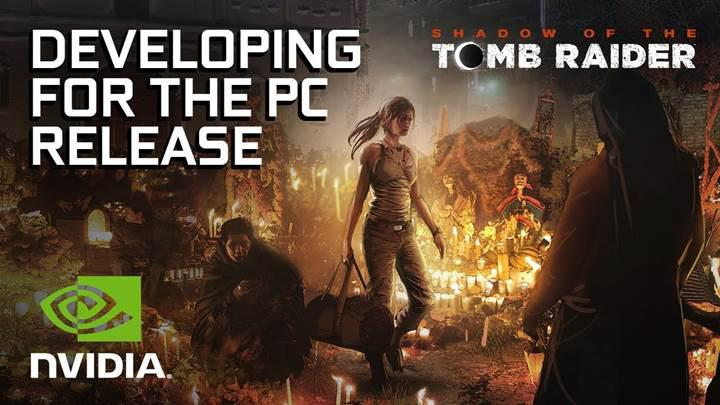Shadow of the Tomb Raider için Nvidia desteği
