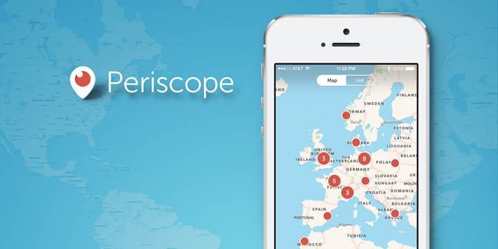 Periscope, erişim yasağına rağmen yayına devam edecek