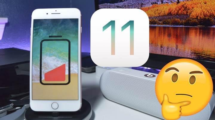 iOS 11.4 güncellemesi bataryaları sömürüyor mu?