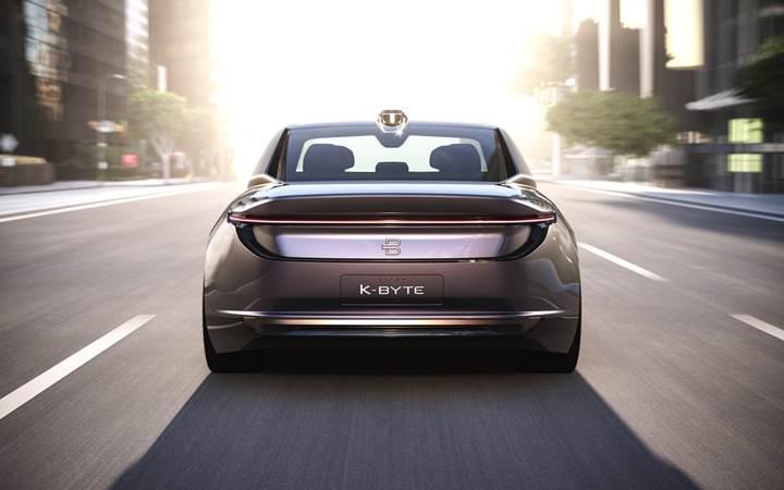 Byton, elektrikli ve sürücüsüz konsepti K-Byte sedanı görücüye çıkardı