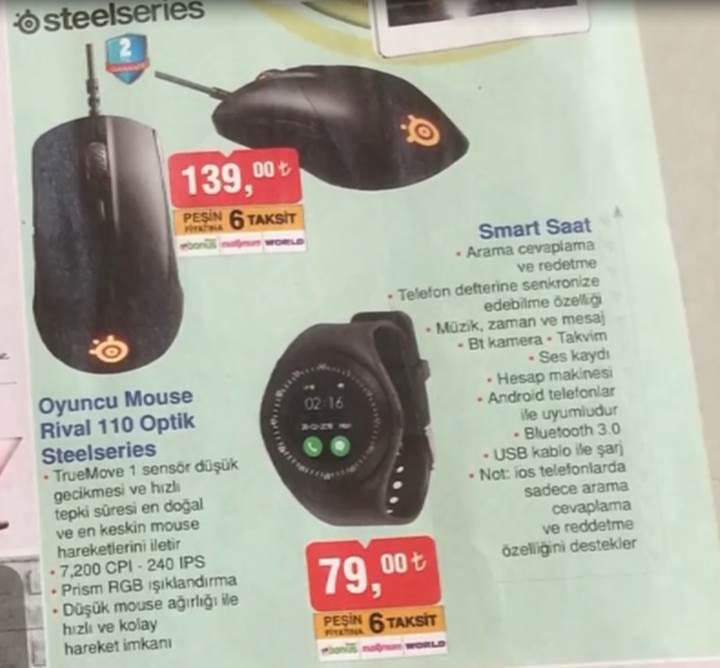bim steelseries rival 110 fiyatı özellikleri