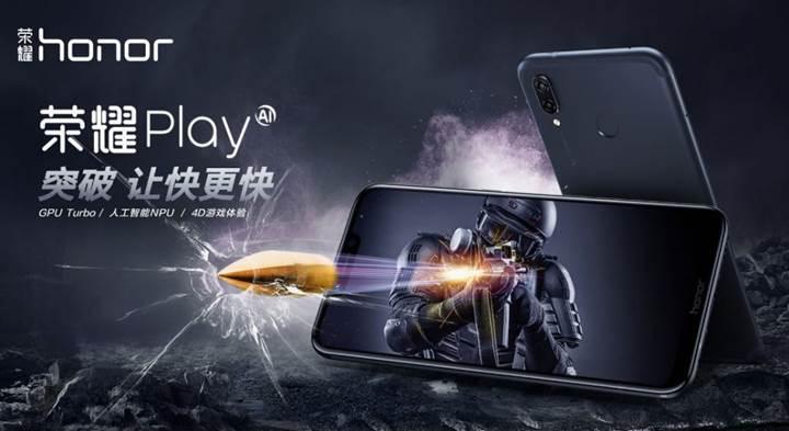 Honor, GPU Turbo teknolojisine sahip ilk telefonunu tanıttı: Honor Play