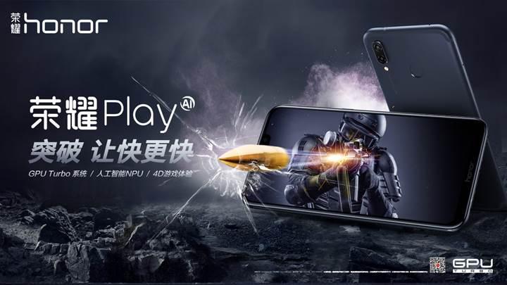Honor Play global pazarda satışa sunuluyor