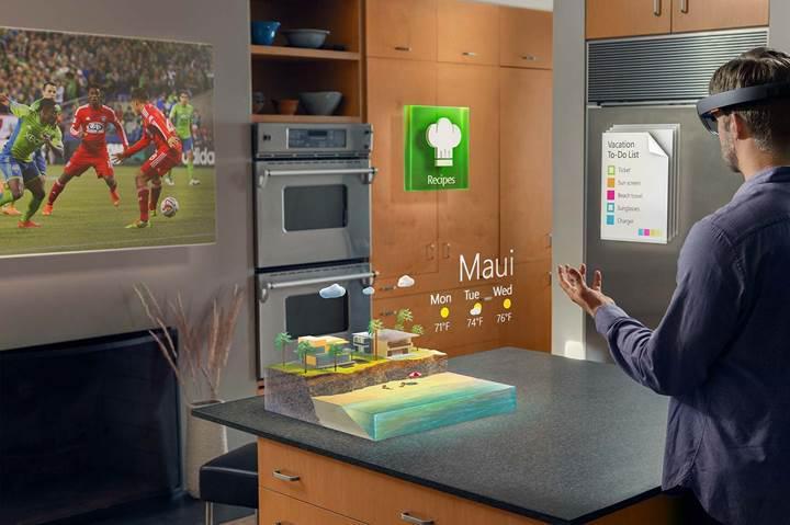 Microsoft bu yıl HoloLens 2'yi duyurmayı planlıyor